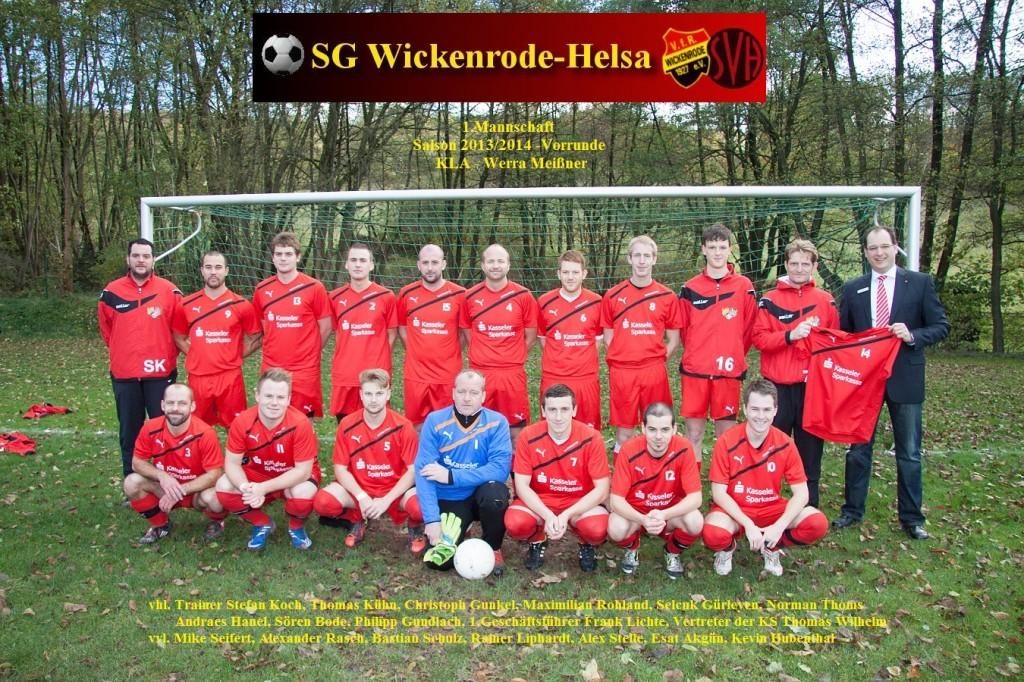 Mannschaft 2013-14Vorrunde